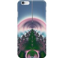 Sailing Into Pink Tunnel Abstract iPhone Case/Skin