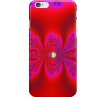 Really Red with Purple Highlights iPhone Case/Skin