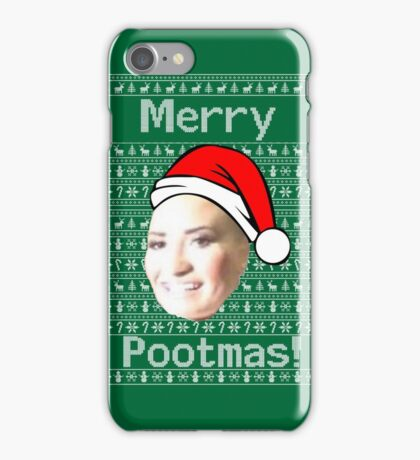 MERRY POOT LOVATO MAS !! iPhone Case/Skin