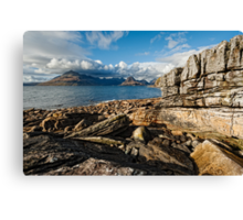 Loch Scavaig and the Cuillin Canvas Print