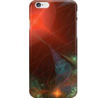Rainbow of Micro Spirals in Red Sun iPhone Case/Skin