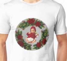 FESTIVE-POINSETTIA SILENT NIGHT-JOURNAL-PILLOWS-DUVET-TOTE BAGS-ECT.. Unisex T-Shirt