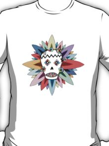 The Day of the Dead Colours T Shirt T-Shirt