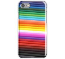 Rainbow of Colored Pencils iPhone Case/Skin
