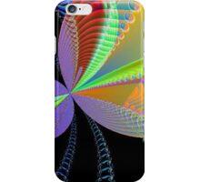 Rainbow of Circles and Swirls iPhone Case/Skin
