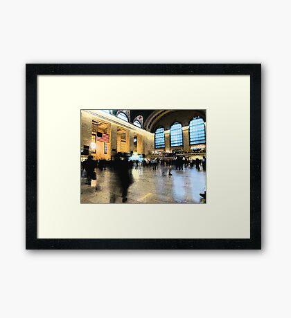 Central Station Framed Print