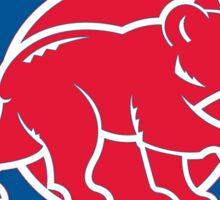 Chicago Cubs Color Swap Logo Sticker