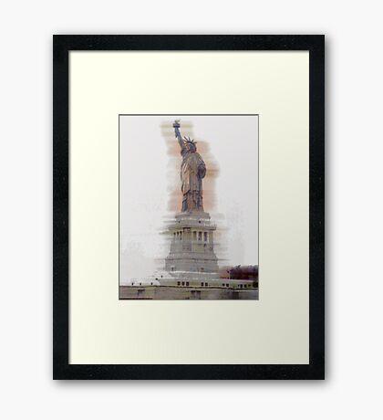 Lady Liberty #2 Framed Print