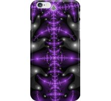 Purple Spine Abstract iPhone Case/Skin