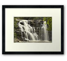 Waterfall in Paradise HDR Framed Print