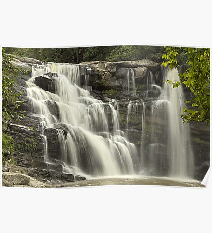 Waterfall in Paradise HDR Poster