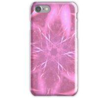 Pink Starburst Abstract iPhone Case/Skin