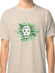The Day of the Dead Green T Shirt Classic T-Shirt