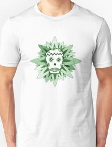 The Day of the Dead Green T Shirt T-Shirt