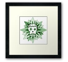 The Day of the Dead Green T Shirt Framed Print