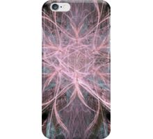 Pink Star Pattern With Blue iPhone Case/Skin