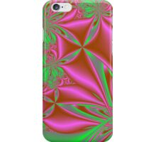 Pink Kites With Green iPhone Case/Skin