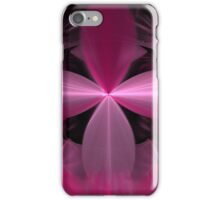 Pink Flower Petals Abstract iPhone Case/Skin