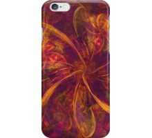 Pink and Orange Bow Abstraction iPhone Case/Skin