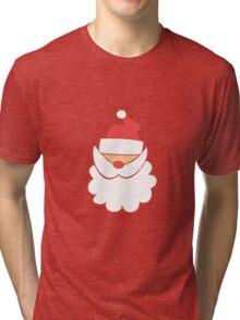 Santa #1 Tri-blend T-Shirt
