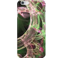 Pink and Green Energy iPhone Case/Skin