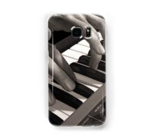 Soft Pads, Keyboard Player Oil Painting Samsung Galaxy Case/Skin