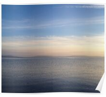 Tranquil Galway Bay Poster