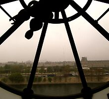 Clock cityscape by stelhope