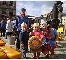 Gouda, Cheese Market. Photographic Print