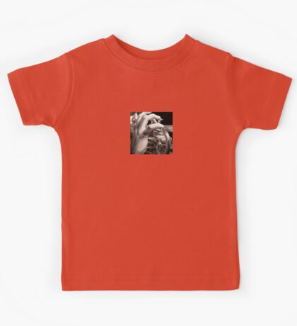 The Horn Begins to Play, Oil Painting Kids Tee