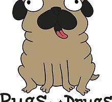 Pugs not drugs by Clàudia Santamaria