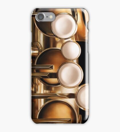 Four Keys, Saxophone Painting iPhone Case/Skin