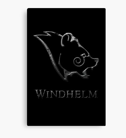 Windhelm Canvas Print