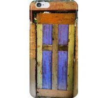 Blue Door iPhone Case/Skin