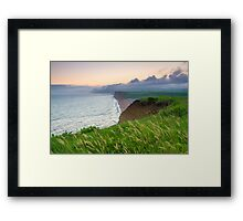 West Bay Coast Framed Print