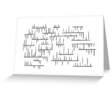 lines 1 Greeting Card