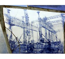 big fish scale shipyard Photographic Print