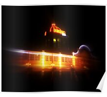 The Kursaal at night Poster