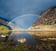 Loch Achtriochtan  Glen Coe by Chris McIlreavy
