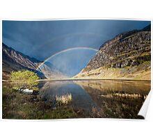 Loch Achtriochtan  Glen Coe Poster