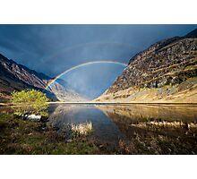 Loch Achtriochtan  Glen Coe Photographic Print