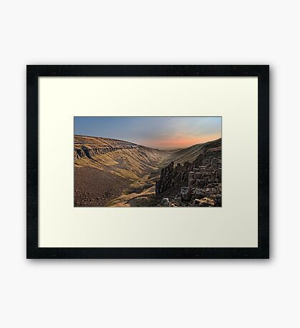 High Cup Nick Framed Print