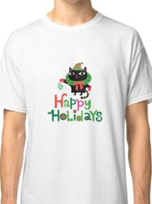 Happy Catiday Holiday   Classic T-Shirt