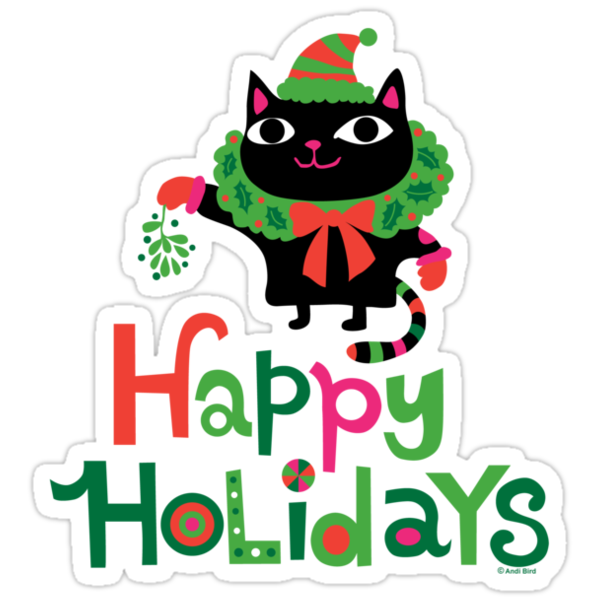Happy Catiday Holiday   by Andi Bird
