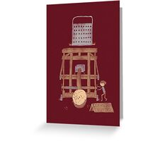 Bacon maker Greeting Card