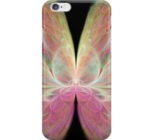 Pastel Butterfly in Abstract iPhone Case/Skin
