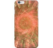Orange Fireworks Wheel iPhone Case/Skin