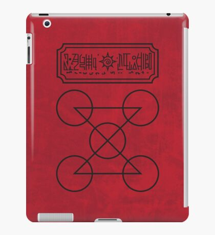 Spit Lightning, Crap Thunder iPad Case/Skin