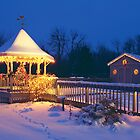 My Christmas Gazebo by wolftinz