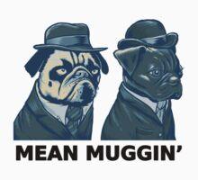 MEAN MUG PUGS - Ozzy & Kubrick - Mean Muggin' Kids Tee